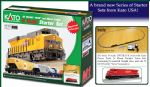 "Kato (USA) 106-0023 N GE ES44AC ""Gevo"" and Mixed Freight Train Starter Set - Union Pacific"